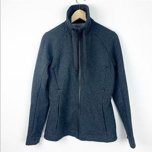 Lululemom Fleece Zip Up Jacket